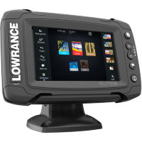 Картплоттер Lowrance Elite-5Ti Mid/High/DownScan
