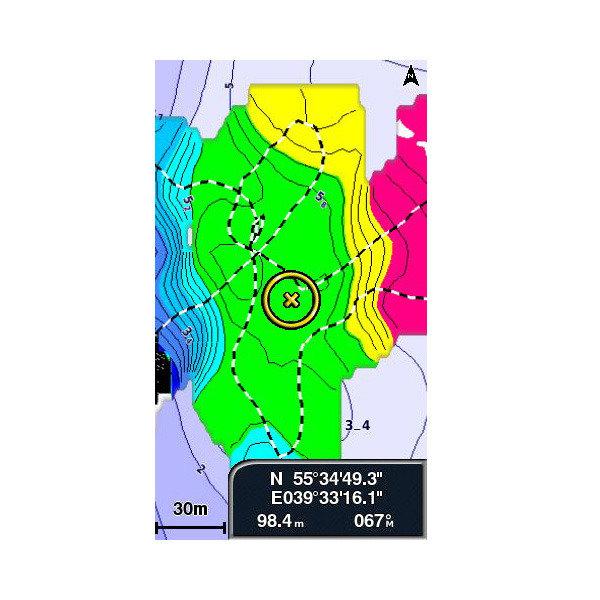Карты для картплоттера garmin