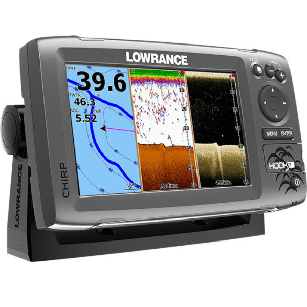 Картплоттер Lowrance Hook-7 Mid/High/DownScan