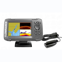 Картплоттер Lowrance HOOK2-7 SPLITSHOT US COASTAL/ROW
