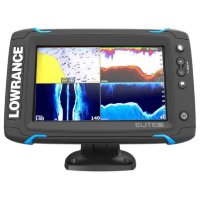 Картплоттер Lowrance Elite-7Ti Mid/High/TotalScan